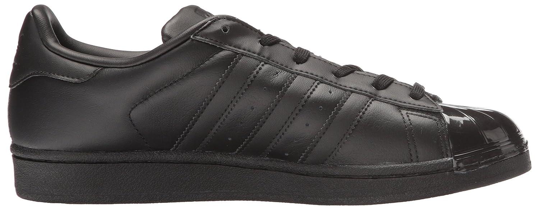 adidas Originals Women's Superstar Glossy Toe W Fashion Sneaker B01HJ20M5Y 6.5 B(M) US|Black/Black/White