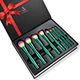 Makeup Brushes Set,Anbber Chic Green Bamboo Degisn 8Pcs Perfect for Teenage Girls arrives in a high-end GIFT BOX