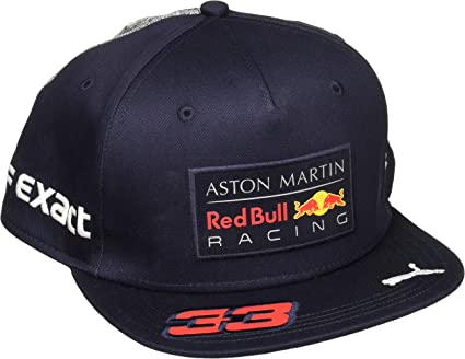 PUMA Aston Martin Red Bull Racing 33, Unisex Cap - Adult, Blue (Night Sky),  One Size