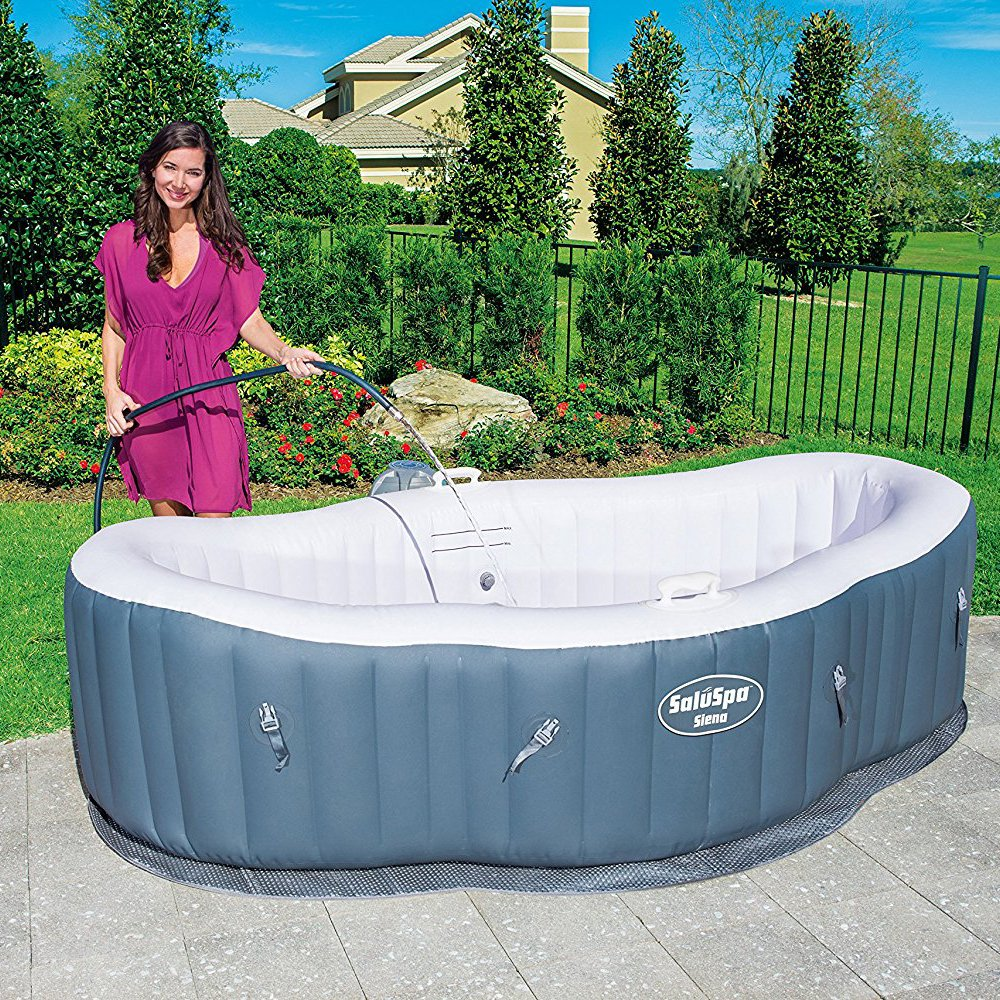 Amazon.com : SaluSpa Siena AirJet Inflatable Hot Tub : Garden & Outdoor
