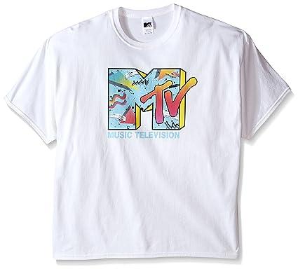 d2b55971e05 MTV Men's Retro Logo T-Shirt