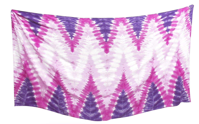 LA LEELA los Hombres fáciles de Llevar Pareo Tie-Dye Hawaii rayón Playa