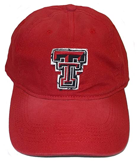 2030fc167be Image Unavailable. Image not available for. Color  adidas Texas Tech Red  Raiders Slouch Flex Hat