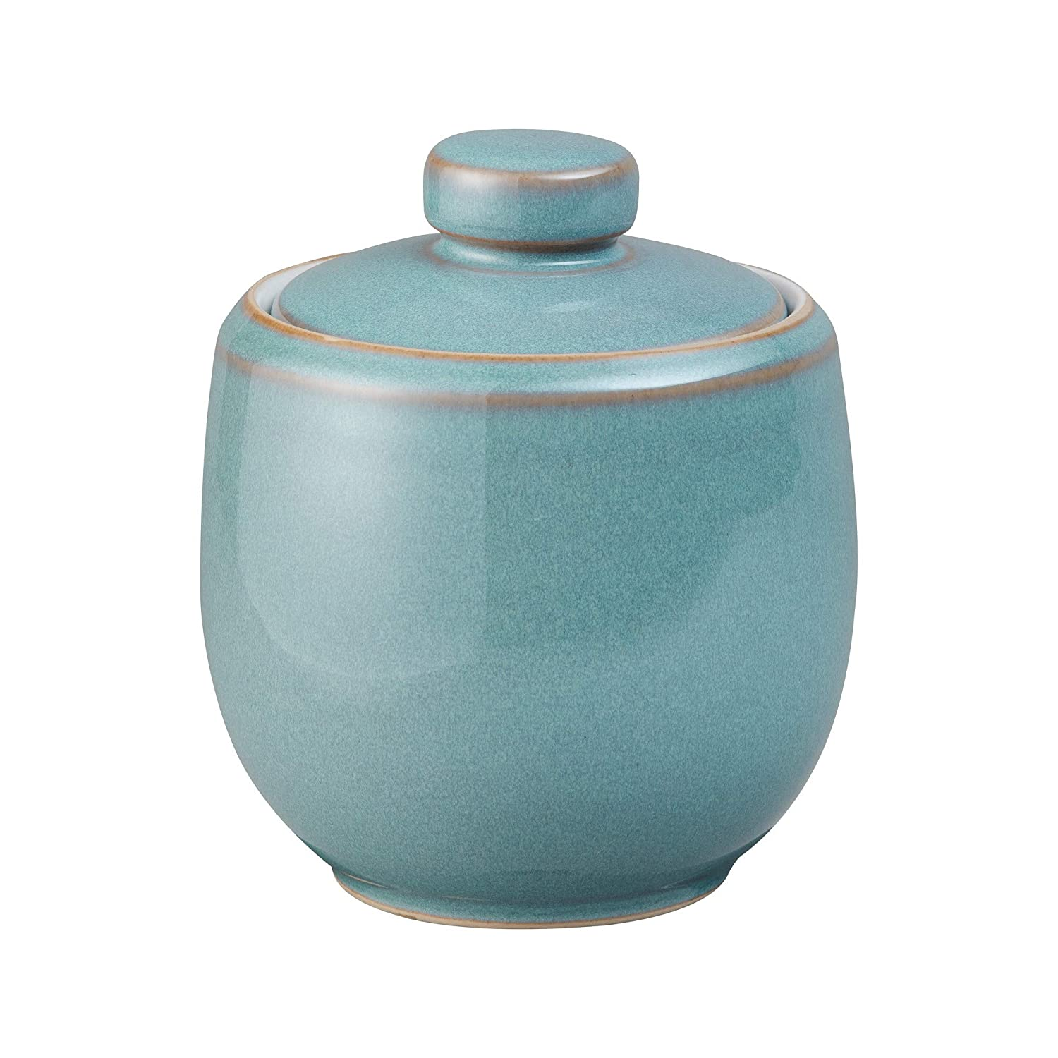 Denby Azure Covered Sugar Bowl 280g AZR-041 Bridal Wedding list gift