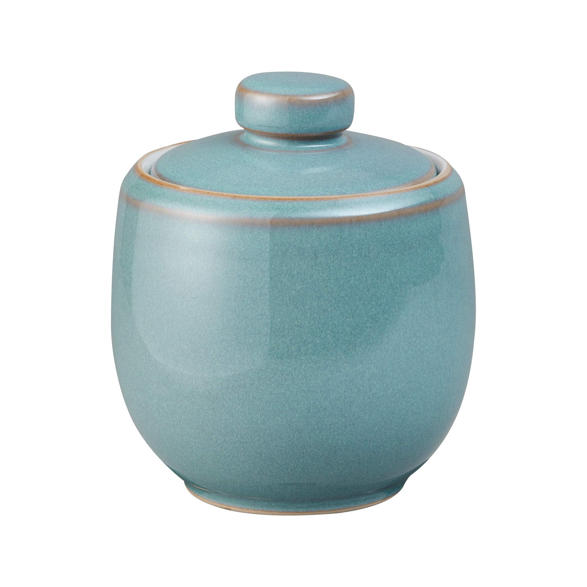 Denby Azure Covered Sugar