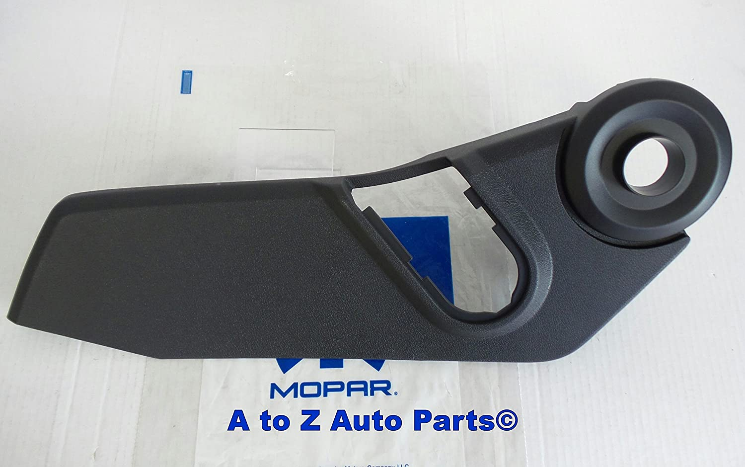 NEW 2007-2012 Jeep Patriot /& Compass DRIVERS SIDE Outer Seat Trim Panel Bezel,OEM