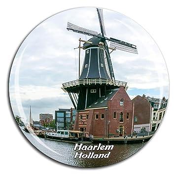 Windmill De Adriaan Haarlem Países Bajos Holanda Imán de Nevera ...