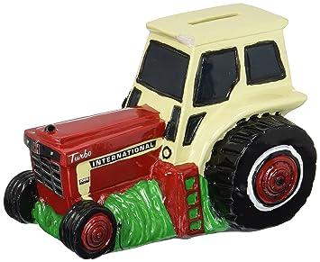 M. Cornell importadores banco caso rojo Tractor, rojo, yelloy, verde, L: Amazon.es: Hogar