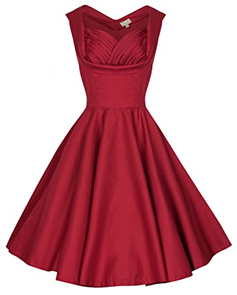 Lindy Bop Petite Ophelia Vintage 1950s Prom Swing Dress ...