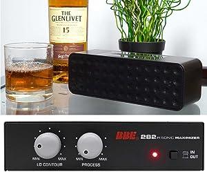 BBE 282IR Desktop Sonic Maximizer w/RCA Inputs/Outputs + Free Bluetooth Speaker