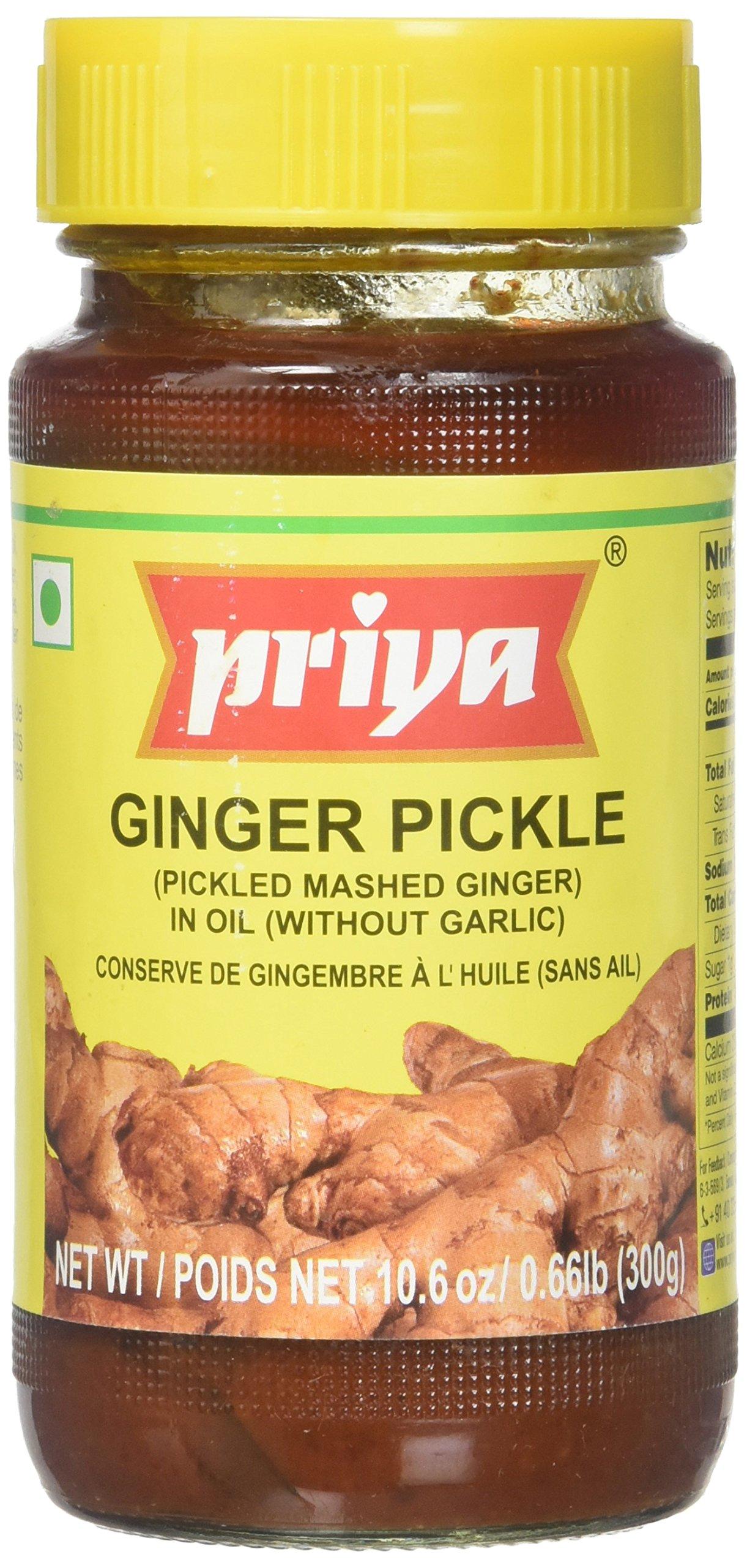 Priya Ginger Pickle 10.6 Oz