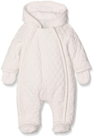 Outerwear Baby & Toddler Clothing Mamas And Papas Girls Snow Suit/ Romper 0-3 Months