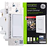 GE Enbrighten Z-Wave Plus Smart Light Dimmer 2-pack with Quick Fit & SimpleWire, 3-Way Ready, Works with Alexa, Google…