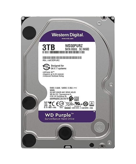 Western Digital Purple 6 TB Surveillance Hard Disk Drive ...