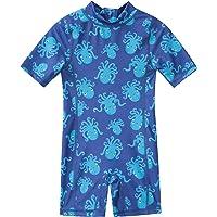 Mountain Warehouse Traje de baño Infantil - Traje de baño elástico para bebés, protección UV máxima, Secado rápido…
