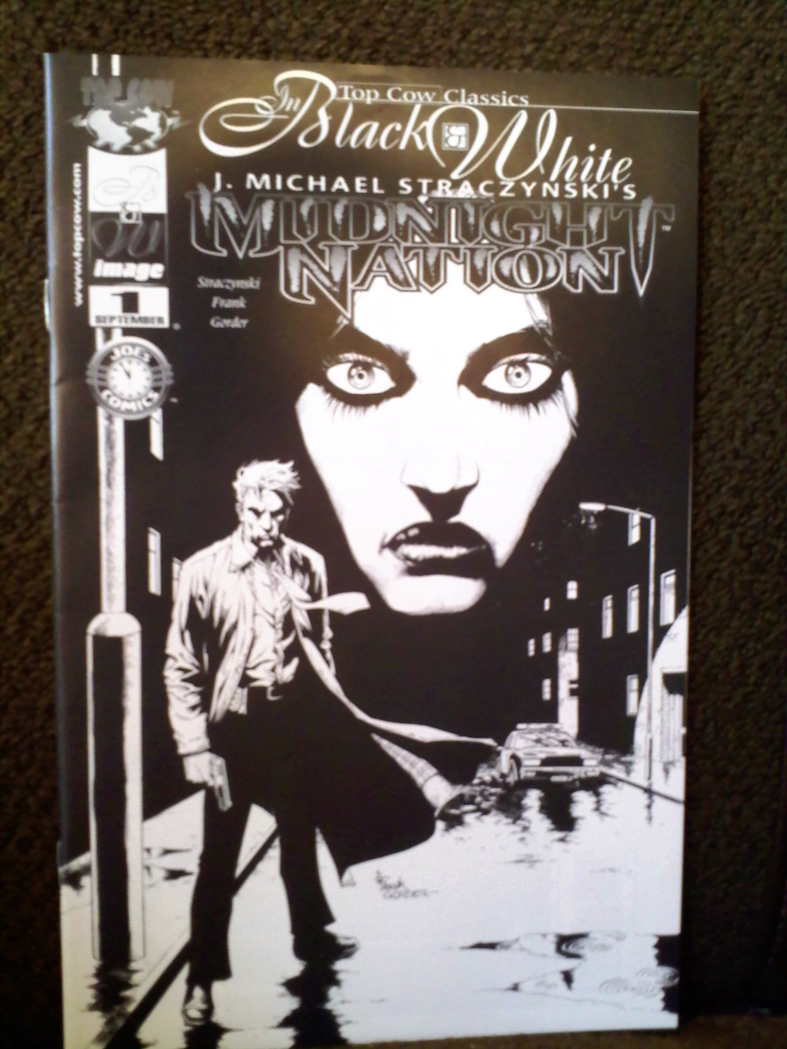 Read Online Midnight Nation #1 / Top Cow Classics - Black & White edition ebook