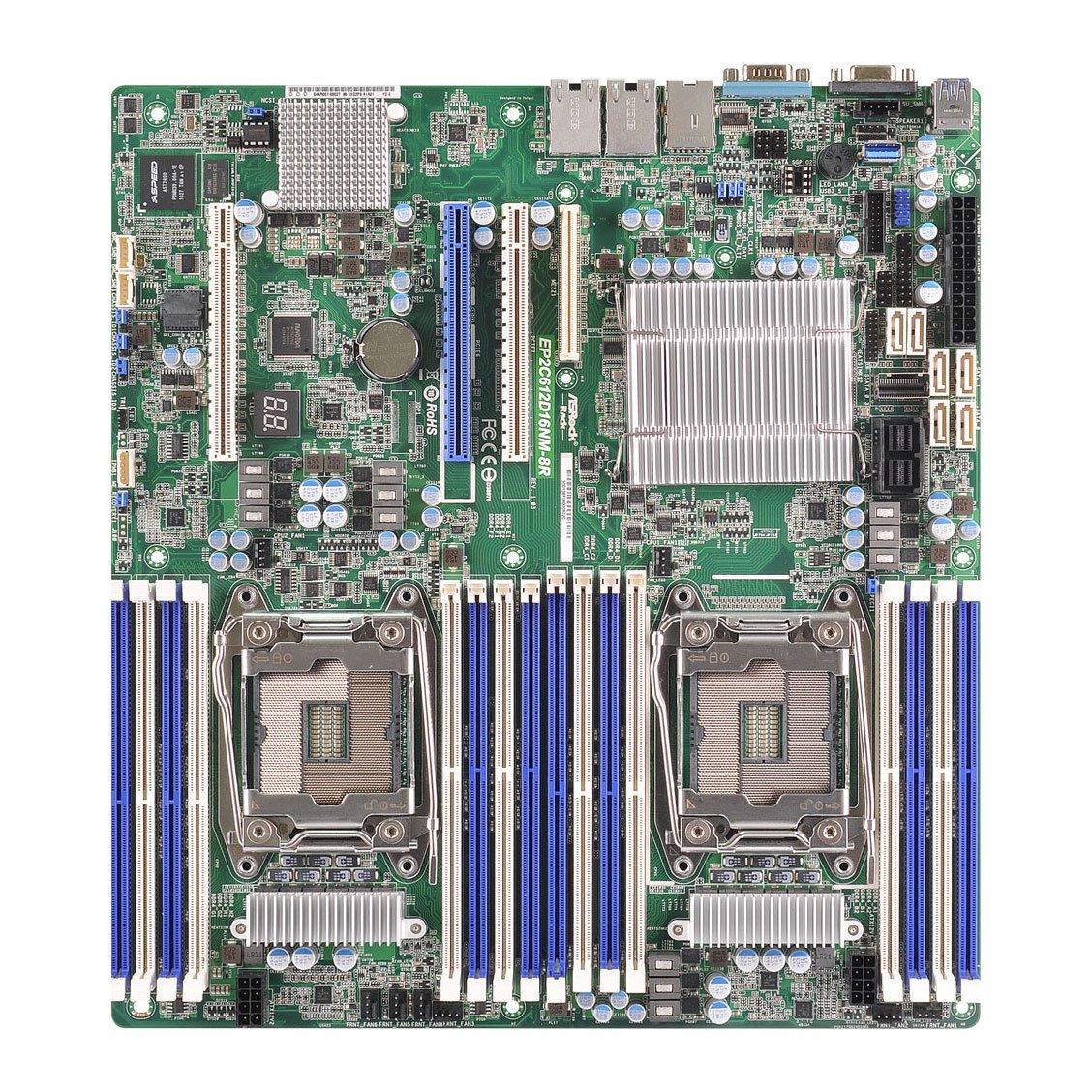 ASRock Rack Motherboard EP2C612D16NM-8R