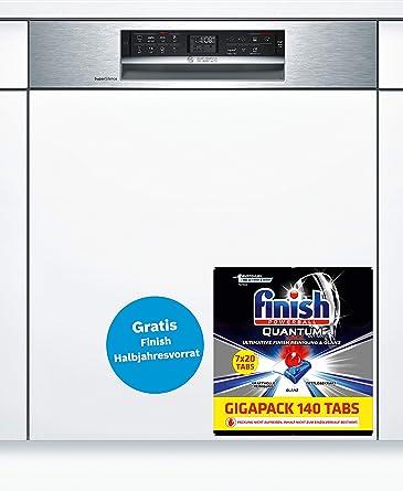 Bosch Serie 6 SMI68MS02E lavavajilla Semi-incorporado 14 cubiertos ...