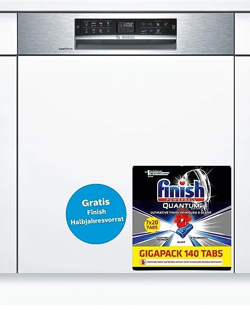 Bosch Serie 6 SMI68MS02E lavavajilla Semi-incorporado 14 ...