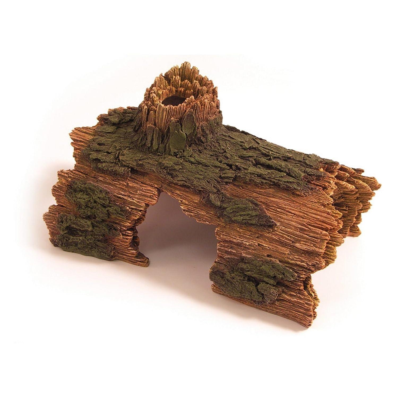 ROSEWOOD Log Hide Aquarium Decor Amazon Pet Supplies