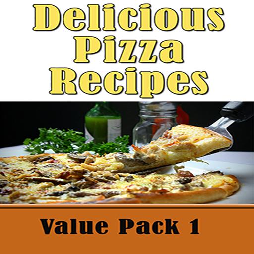 Pizza Recipes: 50 Delicious Homemade Pizza Crust Recipe Book Value Pack 1 (Pizza Sandwich Recipe)
