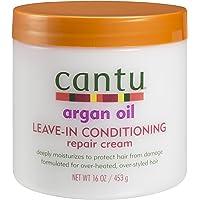 Cantu Argan Oil Leave in Conditioning Repair Cream, 16 Ounce