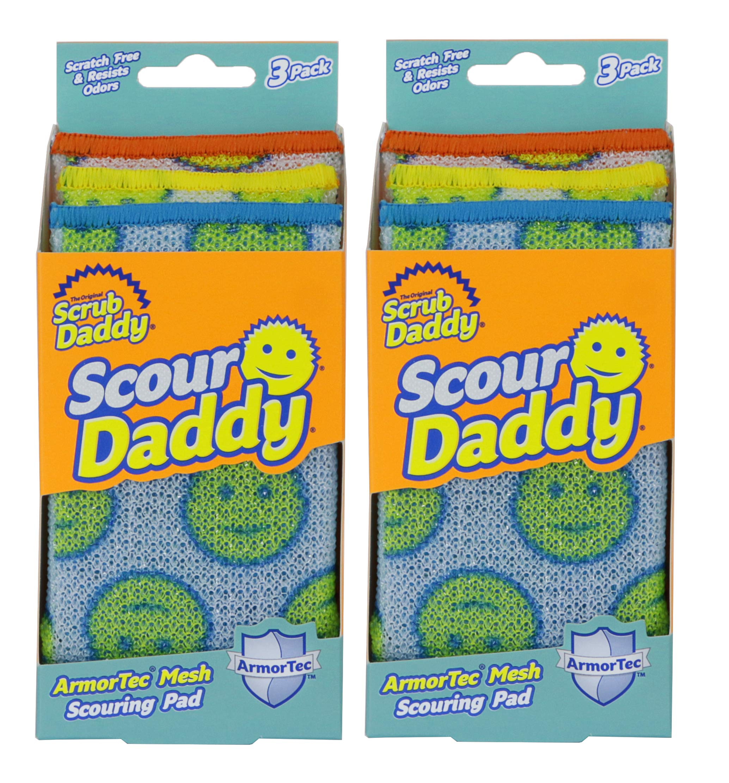 Scrub Daddy - Scour Daddy Scouring Pad - 6 Count by Scrub Daddy