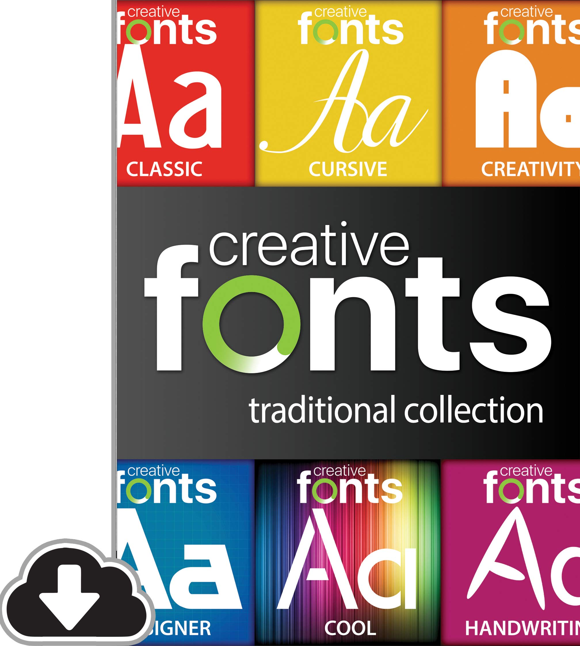 Creative Fonts Traditional Collection [PC Download] by Summitsoft