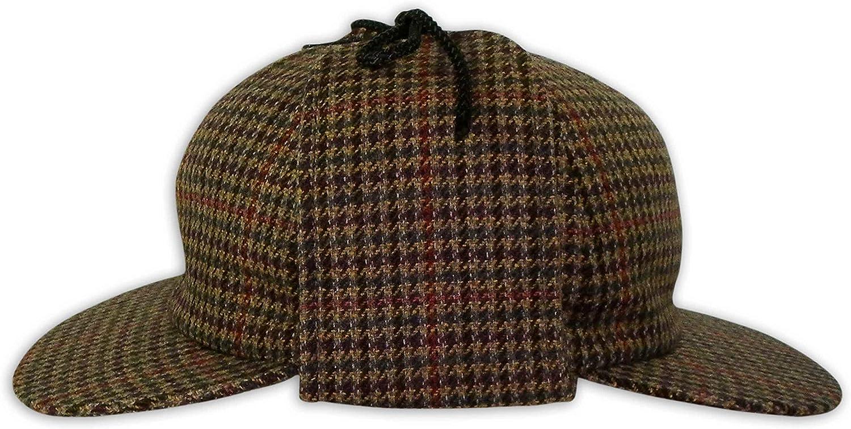 Pasquale Cutarelli Mens Wool Tweed Deerstalker Hat 9167