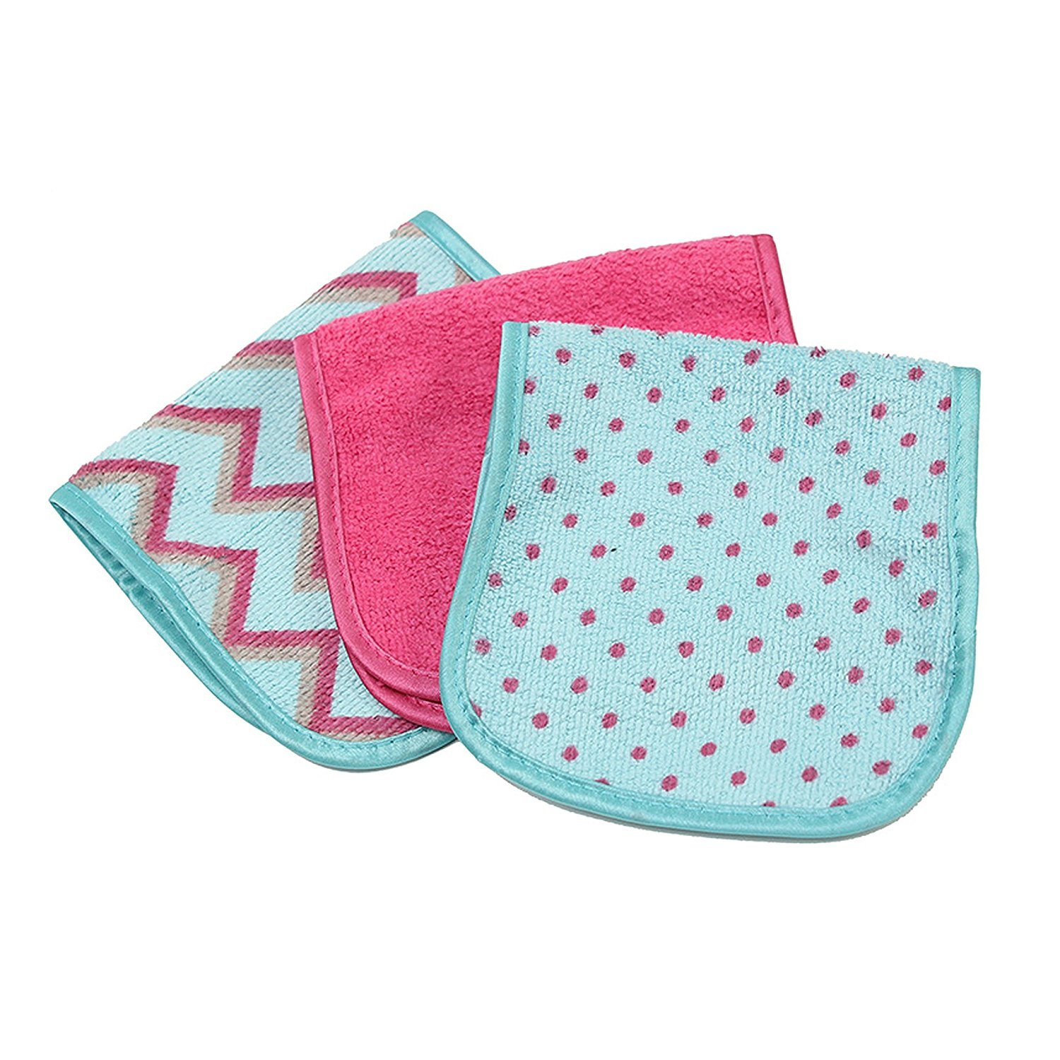 S & T Always Off Makeup Remover Cloths, 3 Count - Colors May Vary