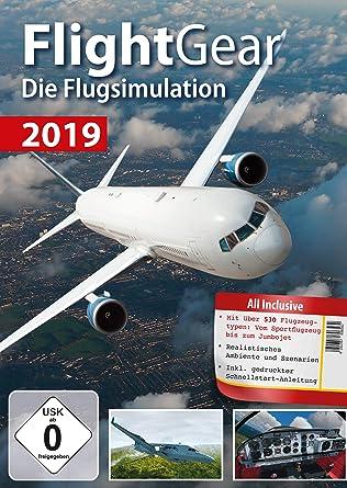 Flight Gear 2019 Flugsimulation - über 530 unterschiedliche Flugzeugtypen  für Windows 10 - 8 1 - 8 - 7