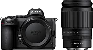 Nikon VOK040YA Z 5 + NIKKOR Z 24-200mm f/4-6.3 Kit, Black