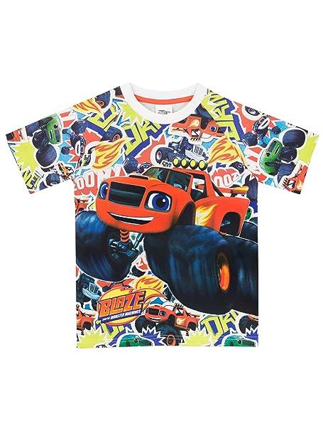 Blaze and the Monster Machines - Camiseta para niño - Blaze y Los Monster Machines -