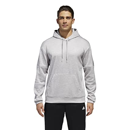 huge selection of 908e9 5564f adidas Athletics Team Issue Fleece Pullover Hoodie, Grey Two Melange,  3X-Large