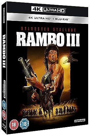 Rambo Part III 4K [Blu-ray] [2018]: Amazon co uk: DVD & Blu-ray