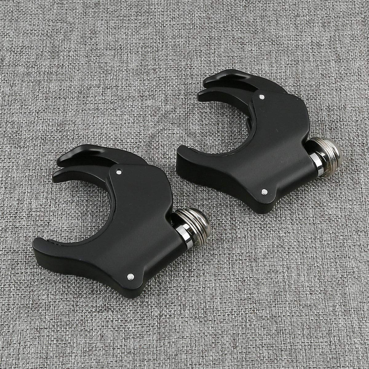 XFMT 39mm Aluminum Quick Release Windshield Clamps Compatible with ...