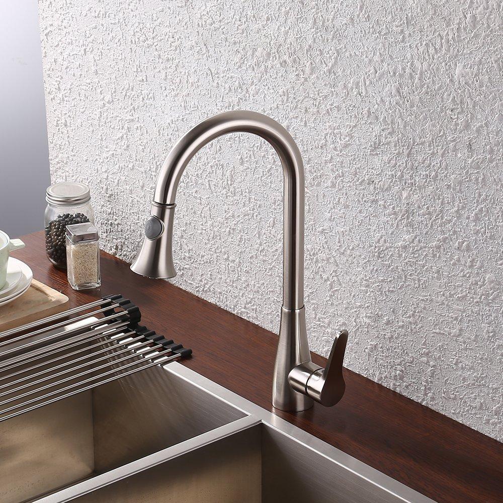 Kes Lead Free Kitchen Faucet Single Handle Bar Sink Faucet