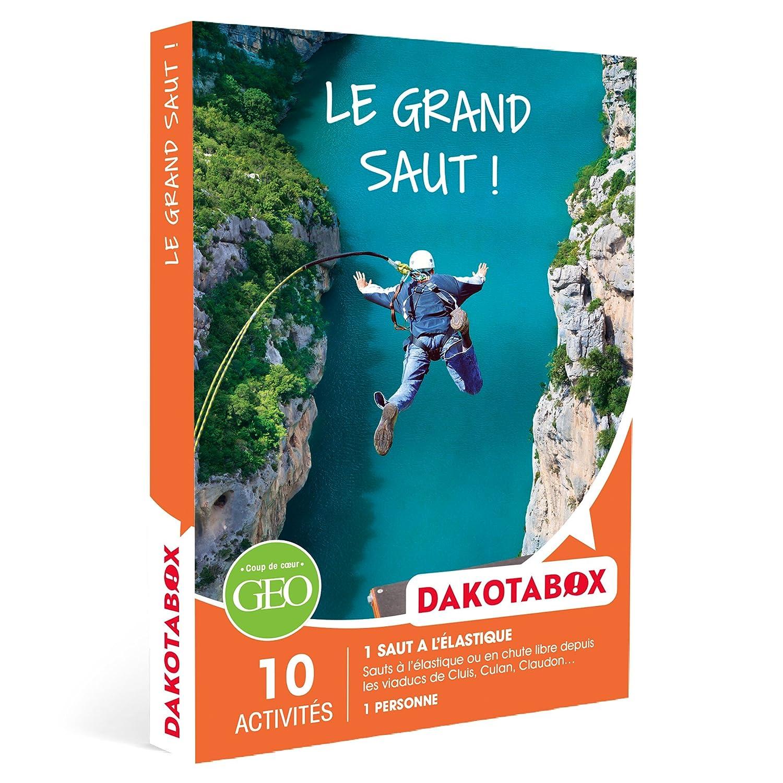 DAKOTABOX - Coffret Cadeau - LE GRAND SAUT ! - 10 activités : sauts à l'élastique depuis les viaducs de Cluis, Culan, Claudon
