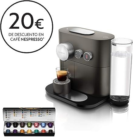 Nespresso DeLonghi Expert EN350.G - Cafetera monodosis de ...
