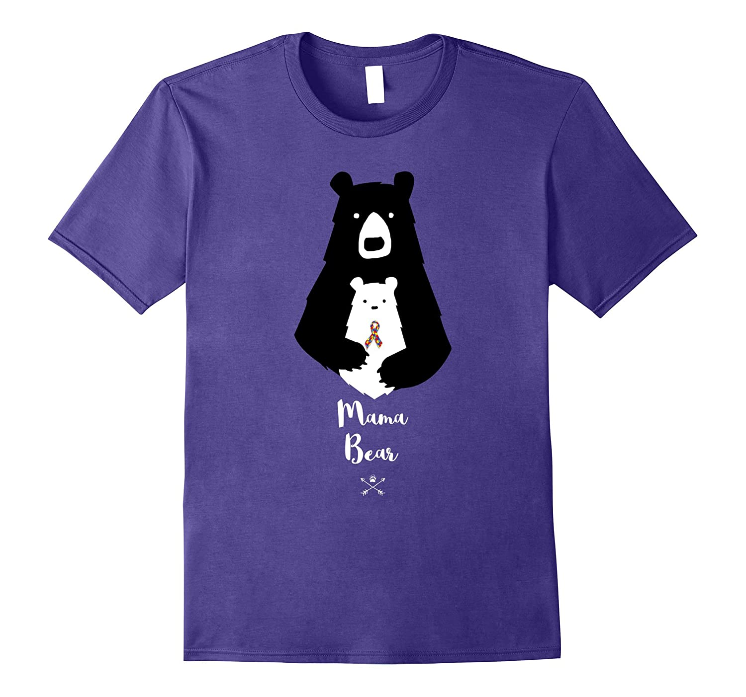2017 Autism Mama Bear - Autism Awareness Shirt-CD