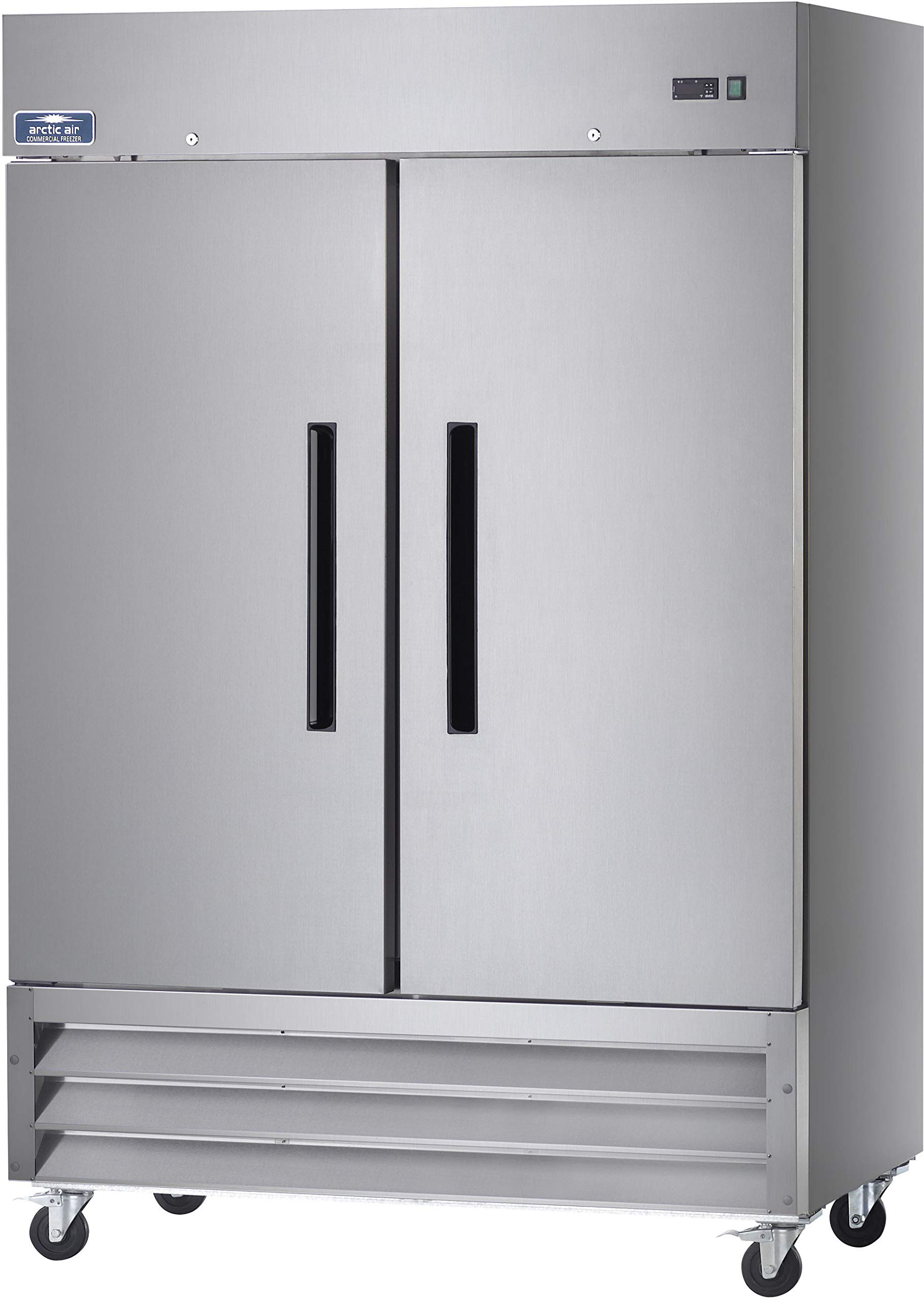 Arctic Air AR49 54'' Two Section Solid Door Reach-in Commercial Refrigerator - 49 cu. ft. by Arctic Air