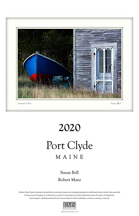 2020 Calendar 11x17 Amazon.: 2020 Calendar: Port Clyde, Maine by Susan Bell and