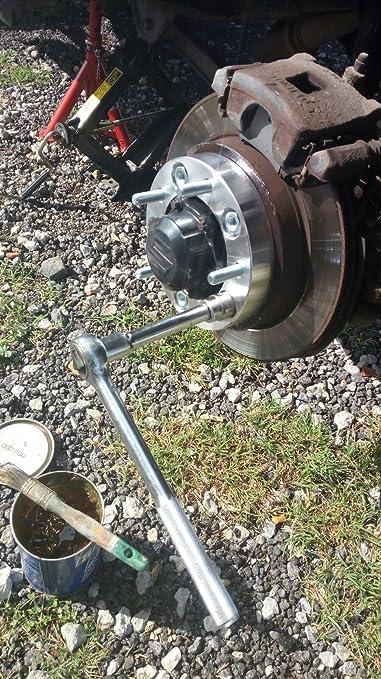 4 Separadores de rueda 5x5.5 5x139.7 30mm Lada Niva: Amazon.es: Coche y moto