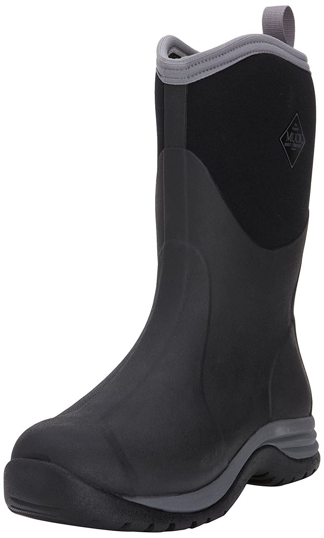 MuckBoots Men's Arctic Commuter Boot B00JRRB7PE 12 D(M) US|Black/Silver
