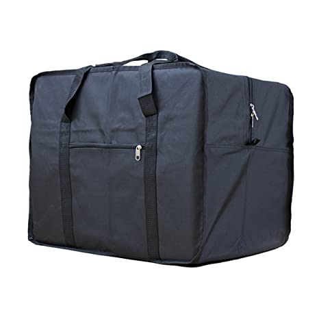 Amazon.com | Square Travel Duffle Bag Bolsa Maleta de Lona ...