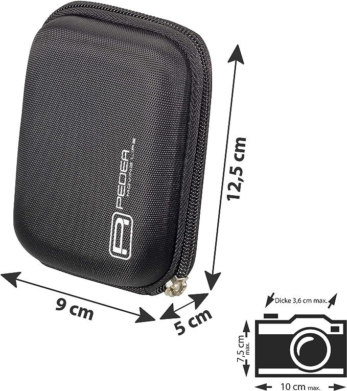 Pedea Hardcase Kameratasche Für Aberg Best 21 Kamera