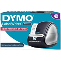 DYMO Label Printer | LabelWriter Turbo 450 Direct Thermal Label Printer, Fast Printing, Great for Labeling, Filing…