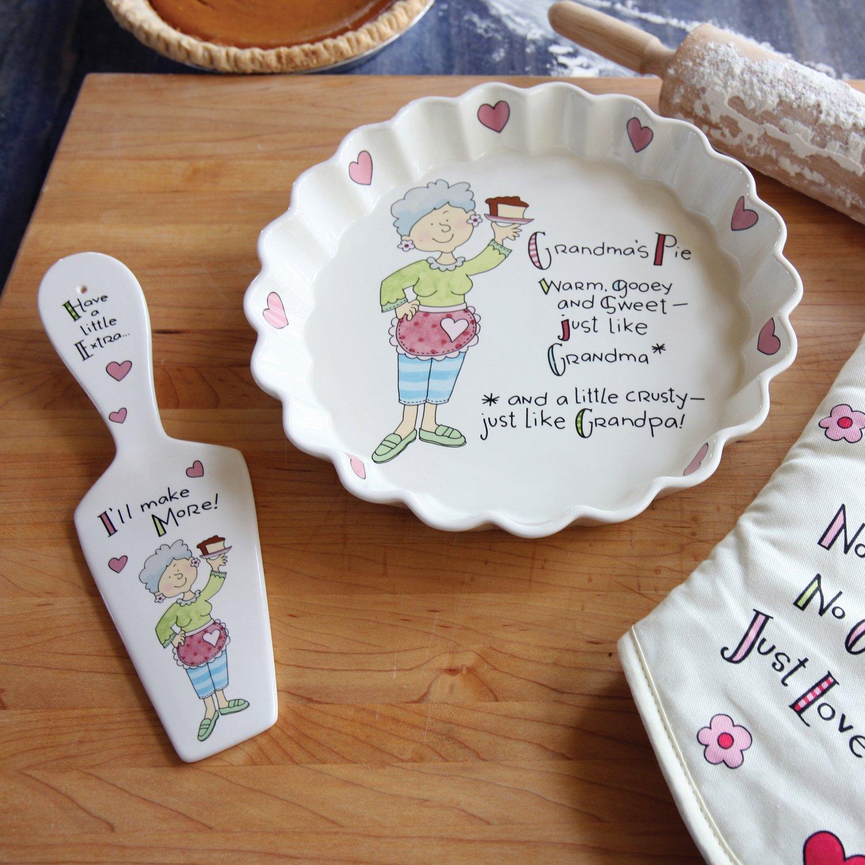 Well Seasoned by Pavilion Grandma's Pie Plate, 9-Inch by Well Seasoned by Pavilion (Image #3)