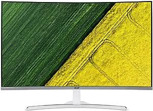 Acer ED322QA 31.5-Inch FHD Curved Free Sync Gaming Monitor,White,UM.JE2SA.A01