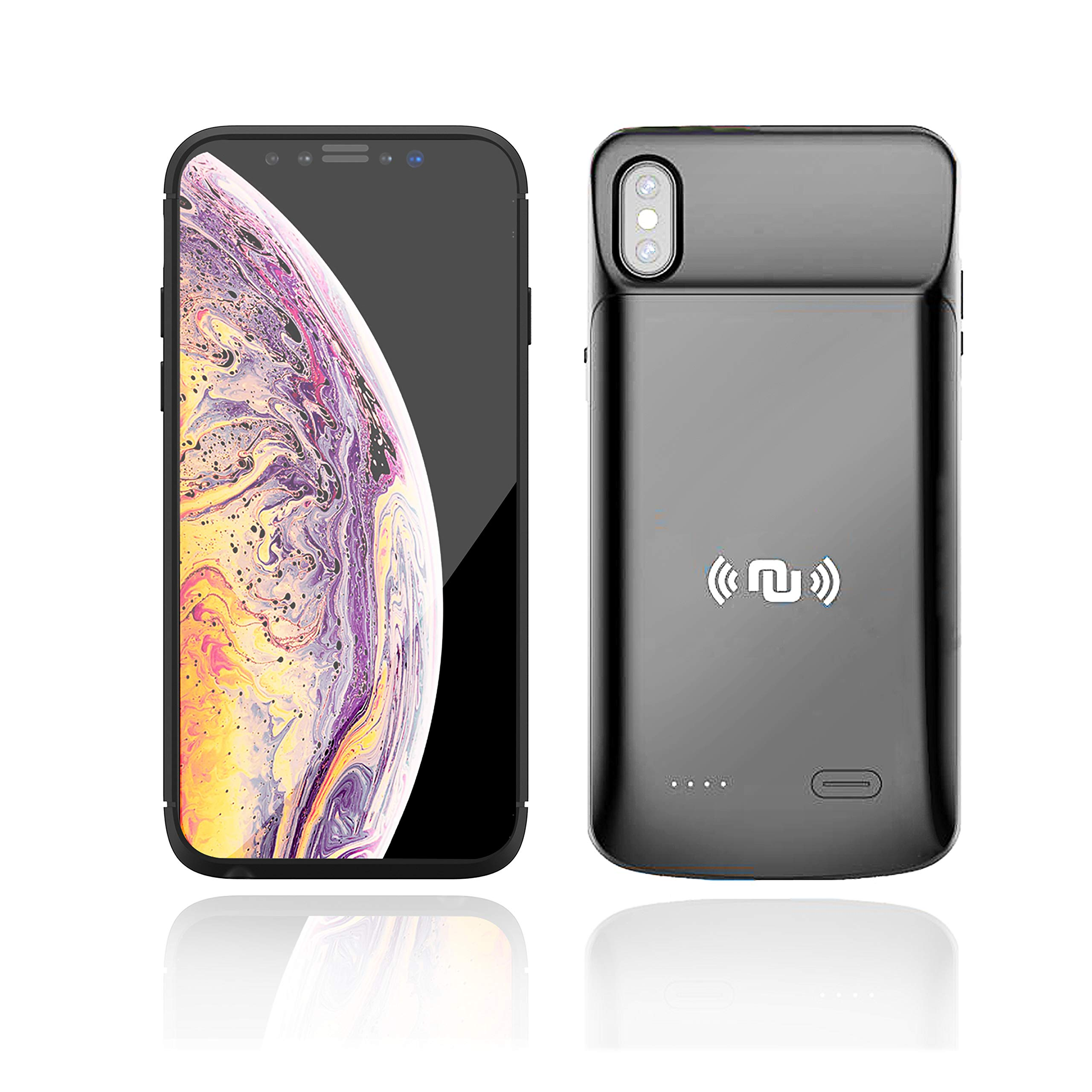 Funda Con Bateria de 6000mah para Apple Iphone Xs Max NUNET [7SM8P5FT]
